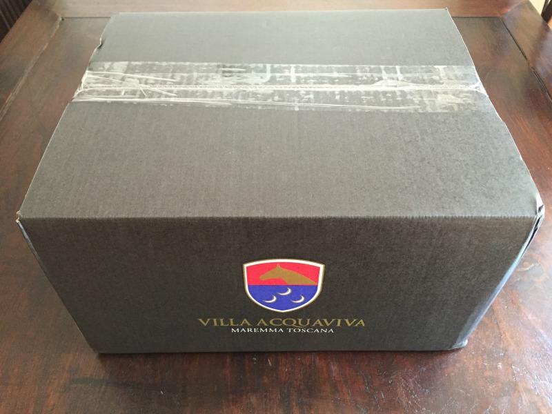 Gift pack from Relais Villa Acquaviva in Maremma, Tuscany | BrowsingItaly.com