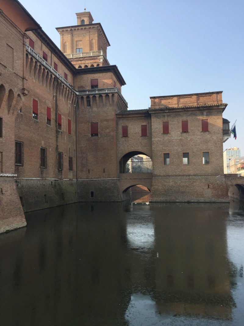 Este Castle in Ferrara | BrowsingItaly.com