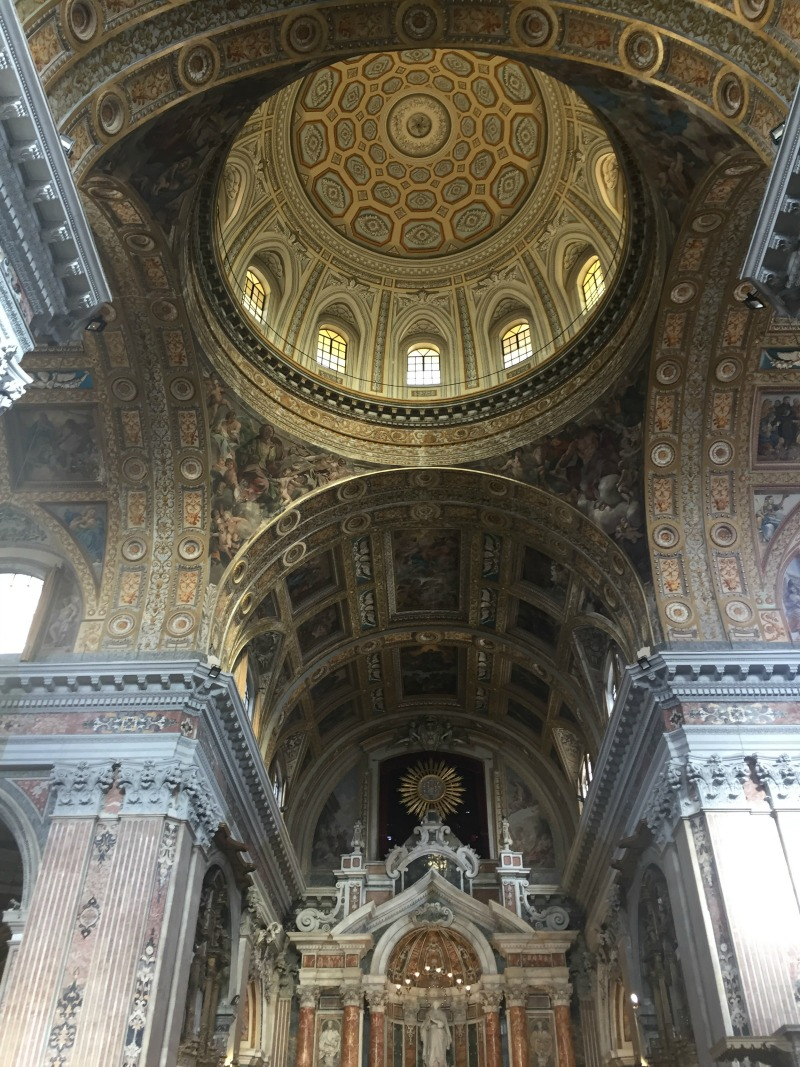 Church of Nuova Gesu' in Naples, Italy | BrowsingItaly.com