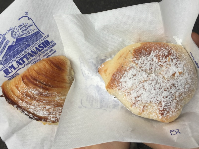 Sfogliatelle from Attanasio in Naples, Italy | BrowsingItaly.com
