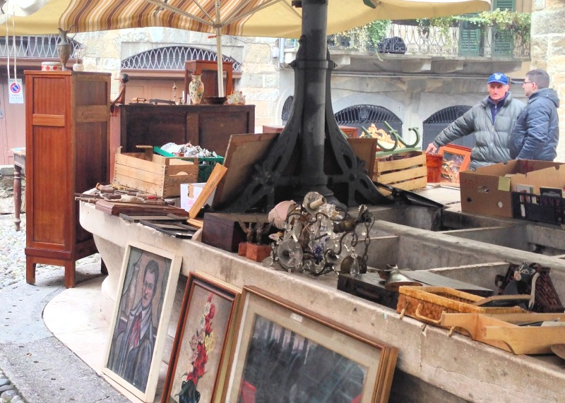 Antique Markets in Northern Italy |Credit: Heather Carlson