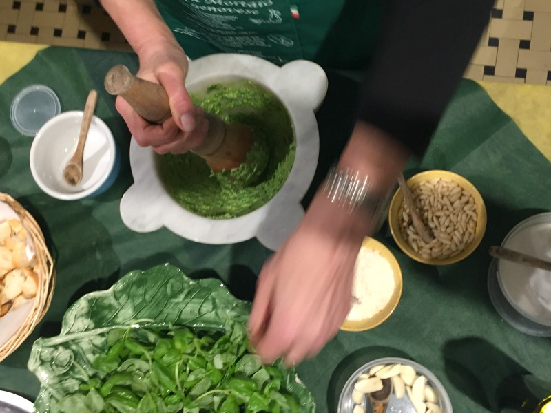 Pesto genovese recipe by Luigina in Levanto