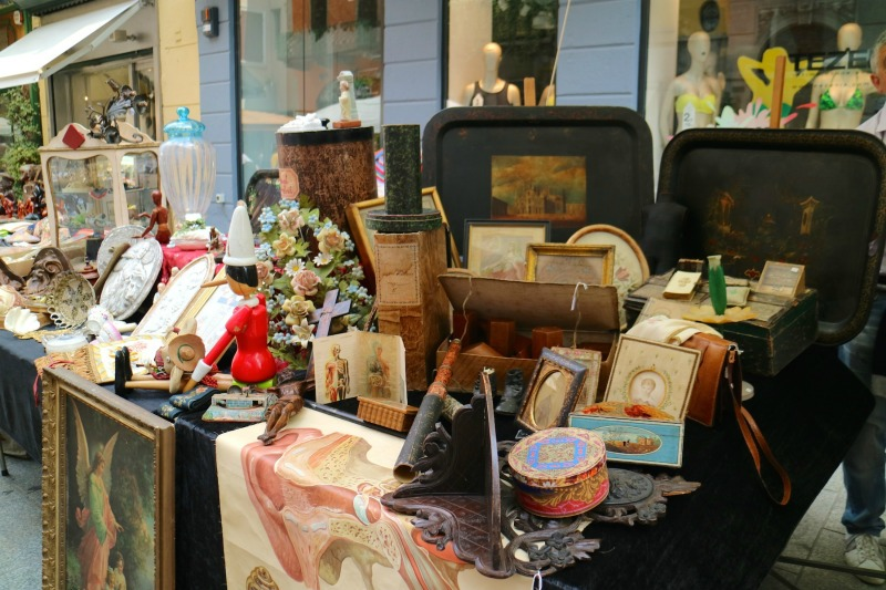Antique Markets in Northern Italy | Cremona | Credit: Heather Carlson