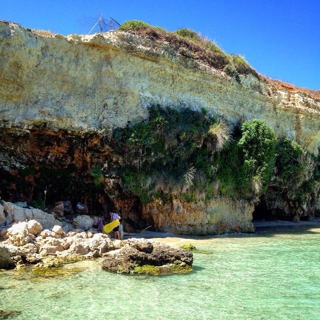 Secret Beach in Salento, Puglia Photo credit: Espressino Travel