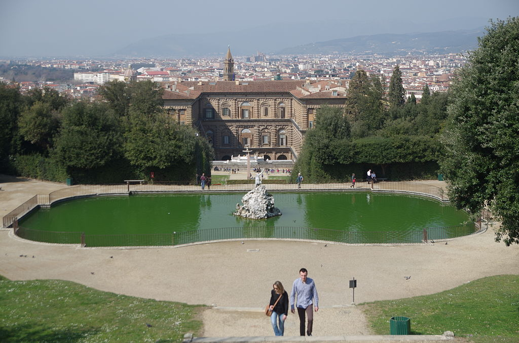 Boboli Gardens, Florence | By Paolo Villa (Own work) [CC BY-SA 4.0 (http://creativecommons.org/licenses/by-sa/4.0)], via Wikimedia Commons