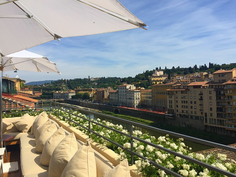 La Terrazza Bar, Hotel Continentale | Summer in Florence
